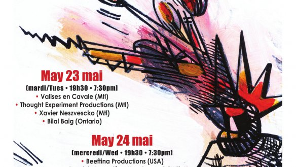 THE 12TH ANNUAL MONTREAL INTERNATIONAL ANARCHIST THEATRE FESTIVAL: MAY 23-24 2017